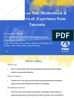 ACERWC 3rd CSO Forum Session Safe Motherhood Campaign Presentation