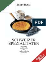 Betty Bossy - Schweizer Spezialitäten