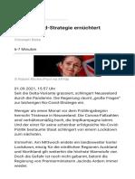 Die No-Covid-Strategie ernüchtert Neuseeland