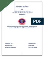 A Project Report Rana Pratap