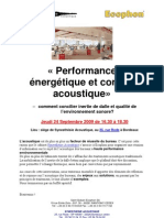 Invitation Performance Energetique Acoustique Bordeaux Synesthesie