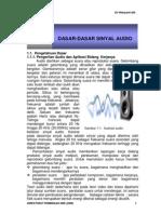 Bab I Dasar Sinyal Audio