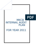 MKCB AUDIT PLAN REC ON 28 JAN
