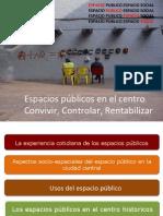 #usde #regurbana 5/8 | Espacios públicos en el centro