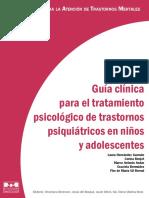 Gua Clnica Para El Tratamiento Psicolgico de Trastornos Psiquitricos en Nios y Adolescentes