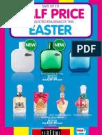 Perfume Shop Leaflet - April 2011
