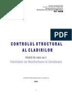 Controlul Structural Al Cladirilor - Tehnici de Monitorizare si Intretinerere