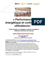 Invitation Performance Energetique Acoustique La Rochelle Synesthesie