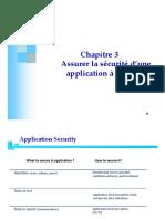 Chap 3 - La Sécurité d'Une Application à Distance