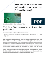 Bertling & Rohmer - wissenswertes zu SARS-COV2 2 - wer erkrankt und wer ist gefährdet