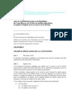 DTC agreement between Switzerland and Costa Rica