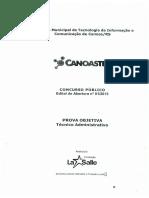 2015 - CANOASTEC - Tec. Administrativo