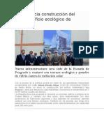 UCSM inicia construcción del primer edificio ecológico de Arequipa