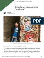 """Liniers, el dibujante argentino que se convirtió en """"rockstar"""""""