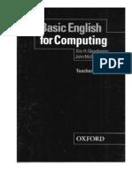 Basic English for Computing Teacher's Book - 100p