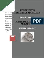 project report 20 dec 09