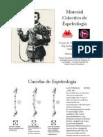 Material Colectivo y Material Personal de Espeleología
