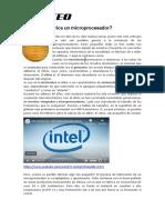Documento - Fabricacion de Microprocesador