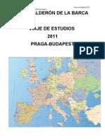 Planning Viaje de Estudios 2011