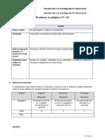 Resolución PA2 Investigacion de Operaciones
