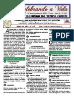 Domingo Tempo Comum _05.09.21