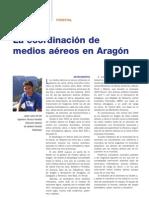 La coordinación de medios aéreos en Aragón