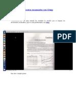 Limpiar documentos escaneados con Gimp