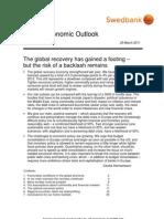 Swedbank's Global Economic Outlook, 2011 March