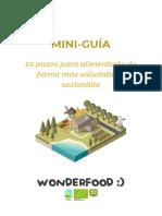 Guía Alimentación Sana y Sostenible