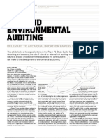 Risk And Environmental Audit