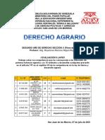 IV trabajo DERECHO AGRARIO Jesús Montilla II D 5 UNERG