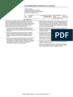 Ficha de Avaliação Médica do Missionário em Perspectiva