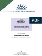 Precision agriculture adaption