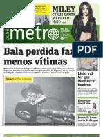 Jornal Metro Rio - Edição de 05/04/2011