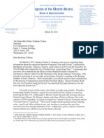 Issas Full Letter to Clinton Regarding ATF Gun Runner Scandal