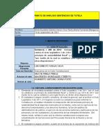 Analisis jurisprudencial T-027-2019