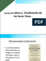 TEMA 2Características y  Clasificación de los Seres Vivos-