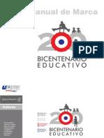 MANUAL Logo Oficial Bicentenatio Educativo
