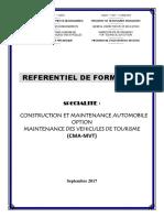 Reférentiel de Formation CMA-MVT