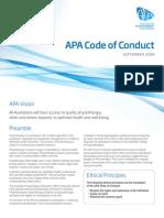 code of conduct - apa