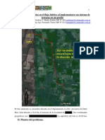 Sistematizacion Con Terrazas Para Control de Erosion Hidrica