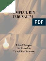 TEMPLUL DIN IERUSALIMB