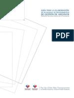 Guia elaboracion manual de procedimiento Gestion de Archivos