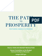 Paul Ryan budget proposal