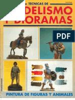 [model] - [tecnicas de modelismo y dioramas 14] - pintura de figuras y animales