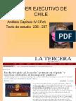 PODER EJECUTIVO DE CHILE