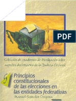 derecho electoral marco constitucional