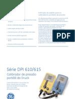CALIBRADOR DRUCK DPI 610-615