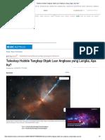 Teleskop Hubble Tangkap Objek Luar Angkasa Yang Langka