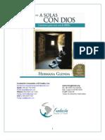 Hna. Glenda - Cuaderno pastoral - A Solas con Dios